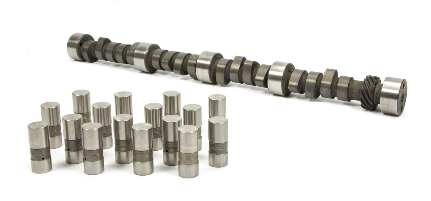 Crane 103052 Camshaft / Lifters, Hydraulic Flat Tappet, Lift 0.515 / 0.515 in, Duration 272 / 272, 110 LSA, 2000 / 5200 RPM, Big Block Chevy, Kit