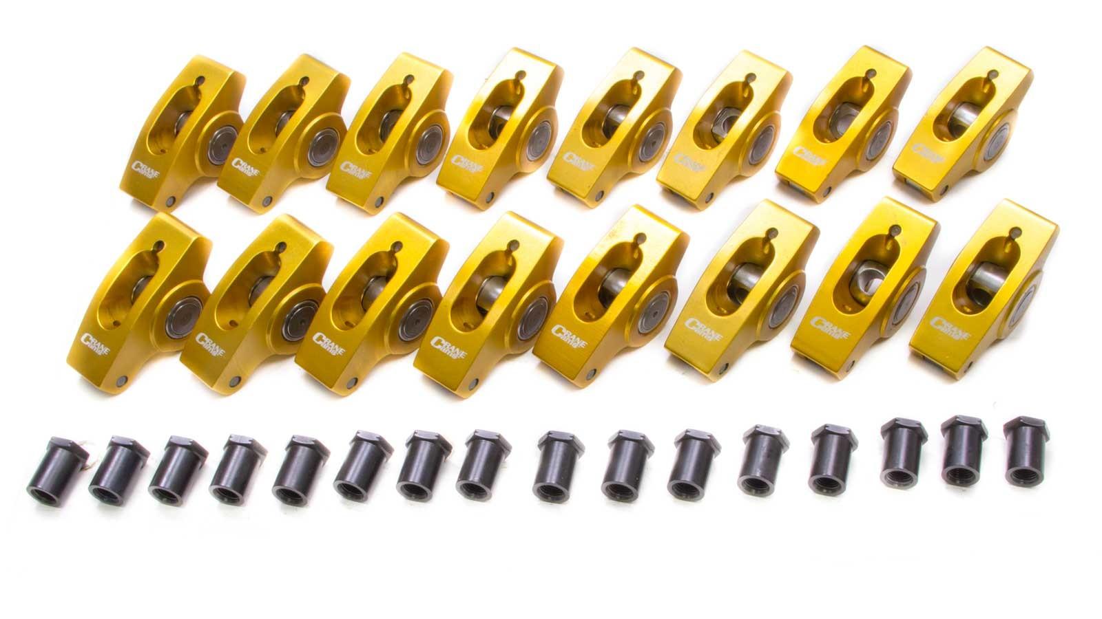 Sbc Alm. Roller Rocker Arms-1.50 Ratio-3/8 Stud