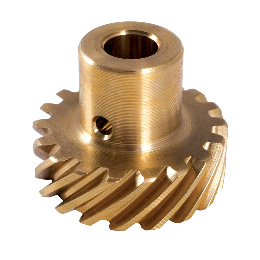 Crane 66990-1 Distributor Gear, 0.484 in Shaft, Bronze, Mopar B / RB-Series / Hemi, Each