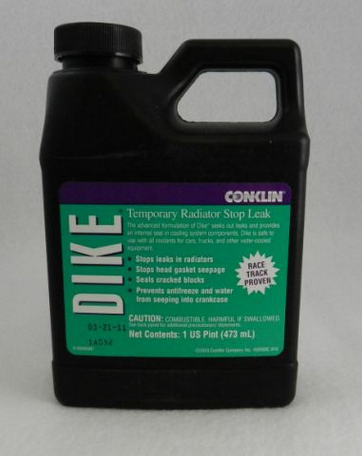 C & R Racing Radiators 59-00001 Antifreeze / Coolant Additive, Dike Stop Leak, 16.00 oz Bottle, Each