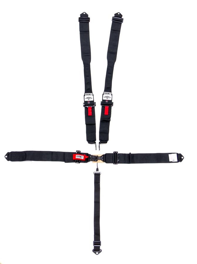 5-Pt Harness Small Latch Blk Hans Bolt In Blk Har