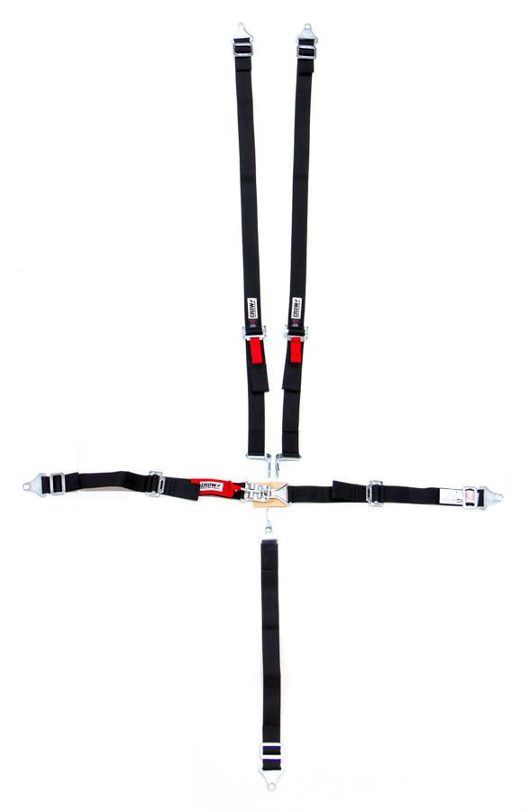 5-Pt Harness System LL Jr Pull Up Lap Belt