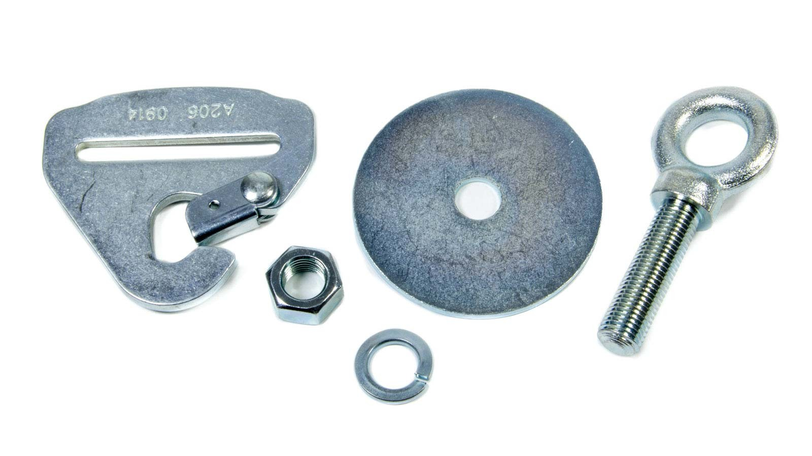 Eye Bolt Nut And Washer W/ Floor Mount Snap