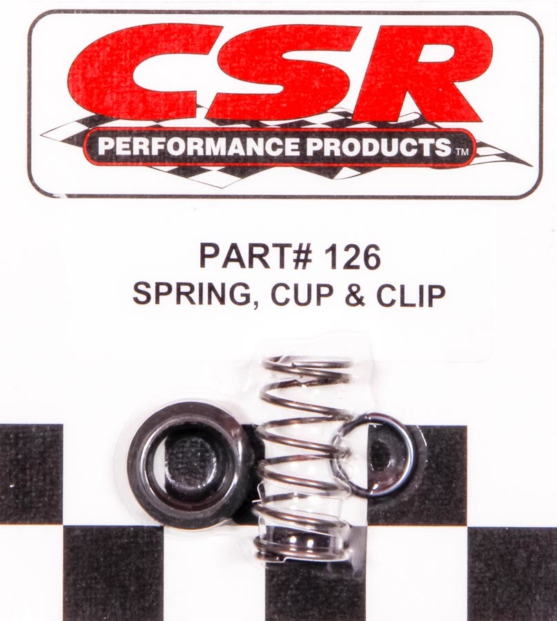 CSR Performance 126 Starter Spring, Spring / Cup / Clip, CSR Starters, Kit
