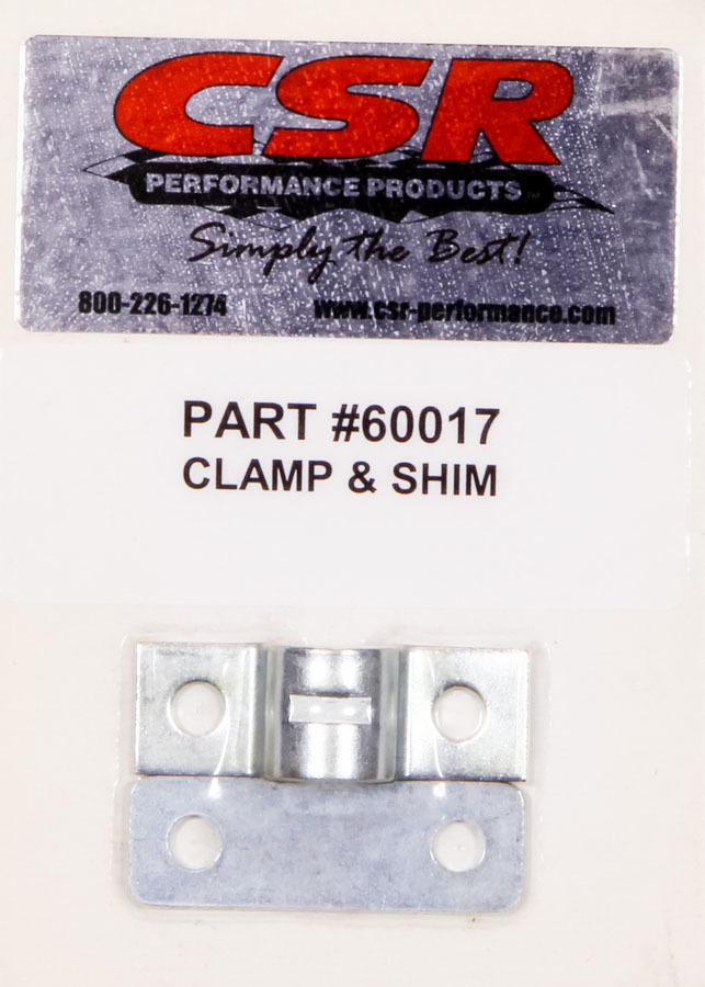 CSR Performance 60017 Throttle Cable Clamp and Shim, Steel, Natural, Kit
