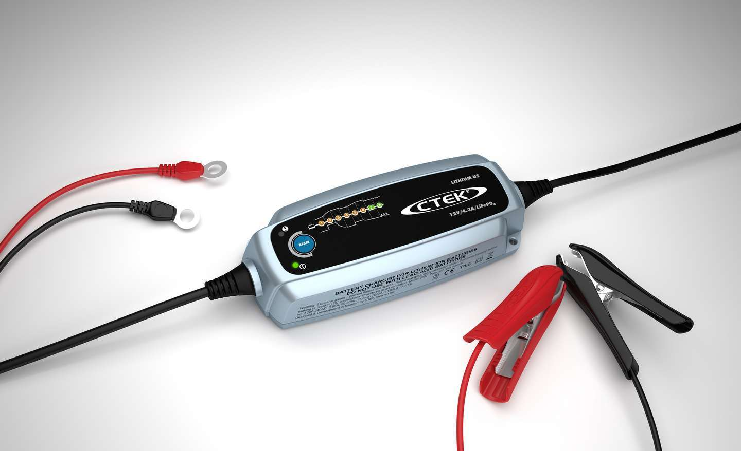 Battery Charger Lithium 12v US