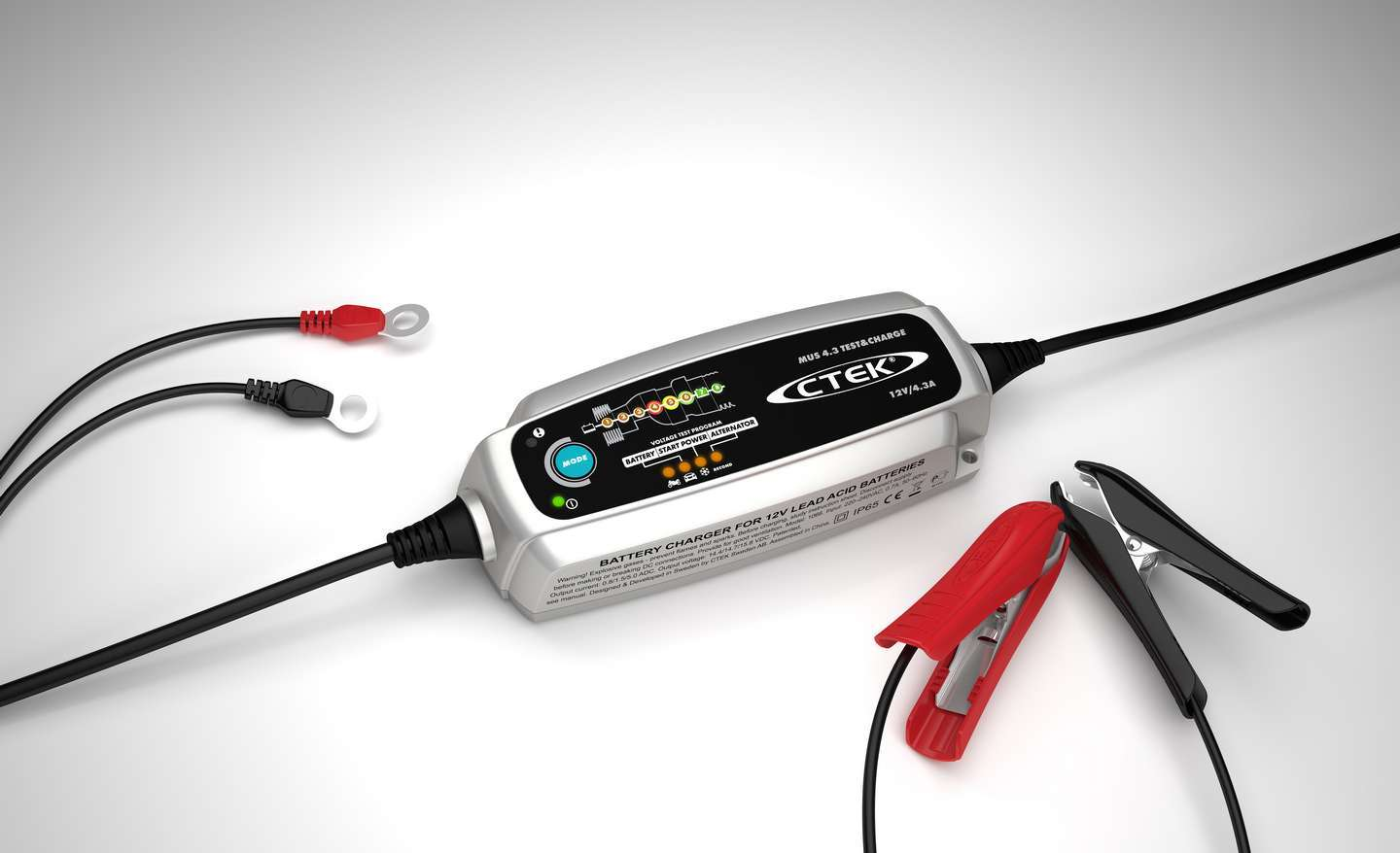 Battery Chager MUS 4.3 Test & Charge 12v