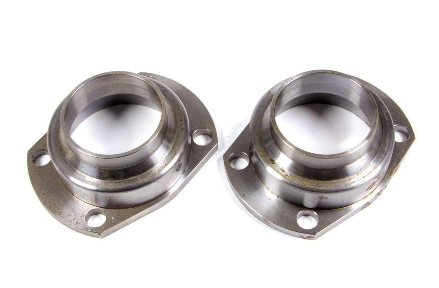 Currie Enterprises CE-2008LB Axle Housing End, Weld-On, 3.150 in Bearing Bore, Steel, Natural, Early Big Ford, Pair
