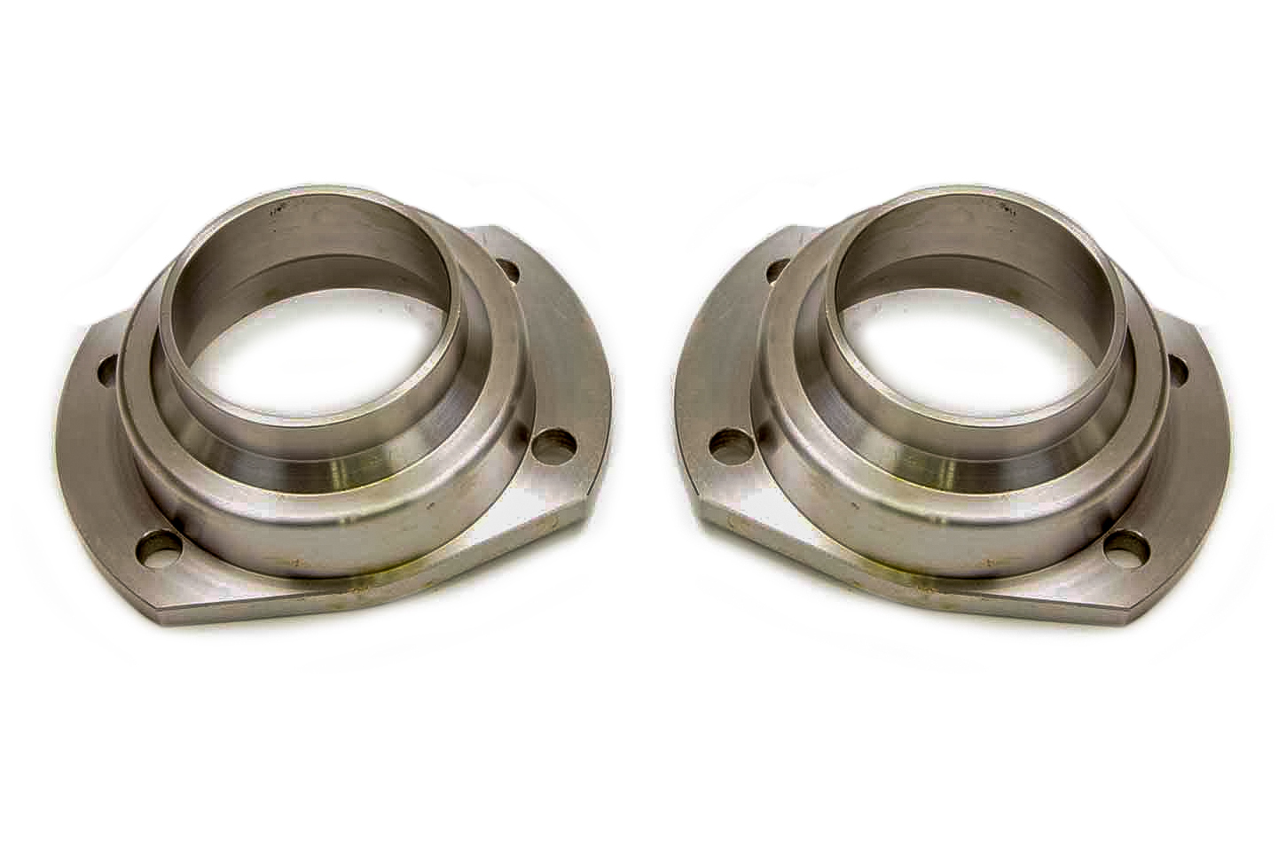 Currie Enterprises CE-2008TB Axle Housing End, Weld-On, 3.150 in Bearing Bore, Steel, Natural, Late Big Ford, Pair