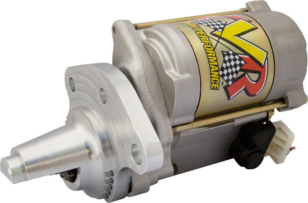 CVR Performance 1338 Starter, Protorque, 10 Position Mounting Block, 4:1 Gear Reduction, Natural, Mopar V8 / 6-Cylinder, Each