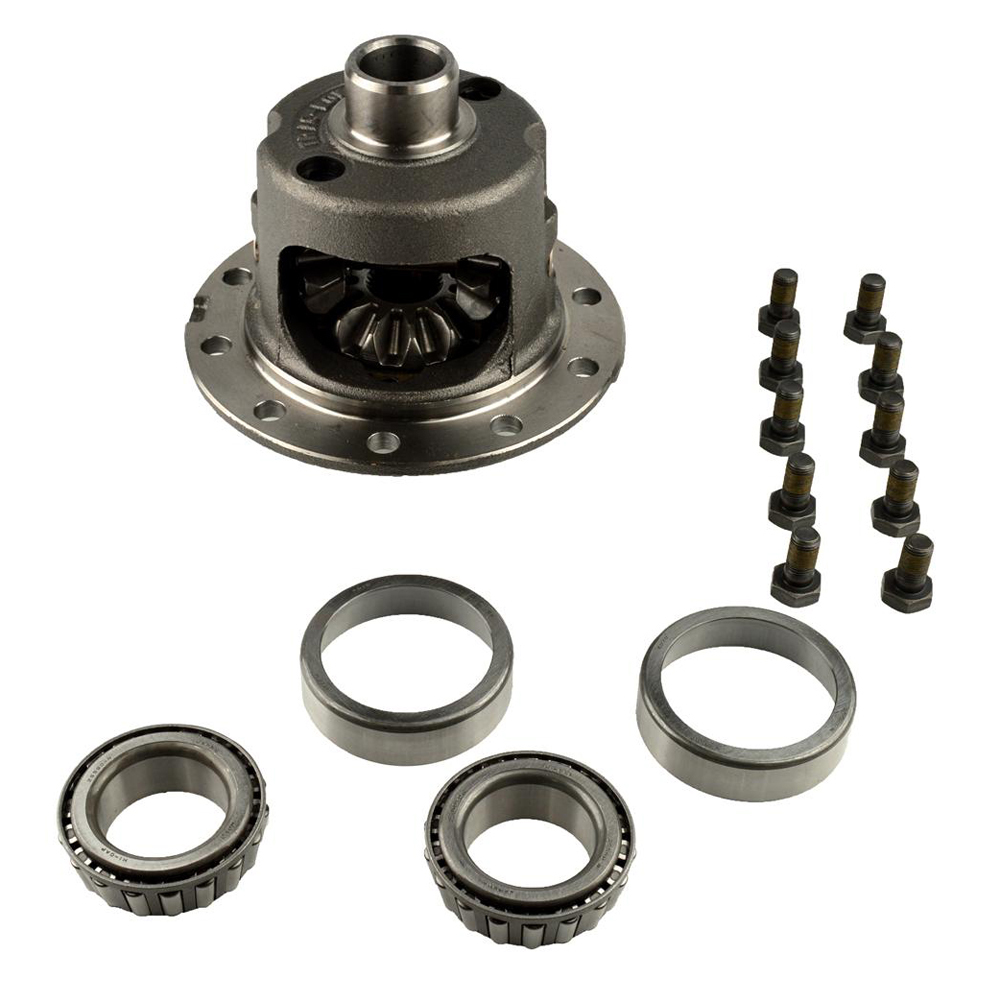 Dana-Spicer 2008571 Differential Carrier, Traction-Lok, 30 Spline, 10 Bolt Cover, Steel, Natural, Jeep, Dana Super 44, Each