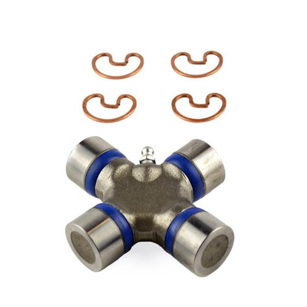 Dana-Spicer 5-134X Universal Joint, 1310 to 1330 Series, 1.062 in Bearing Caps, Clips Included, Greasable, Steel, Natural, Each
