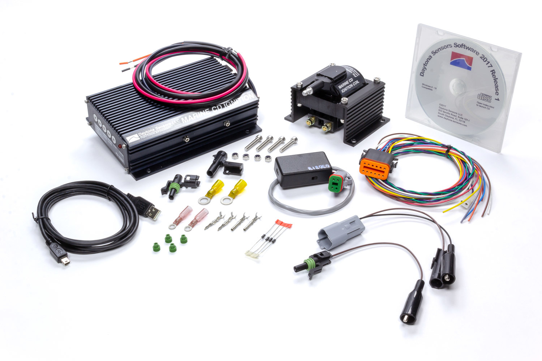 Daytona Sensors 103003 Ignition Kit, CD-1 Marine, CD Ignition Box, Coil, USB Interface, Kit