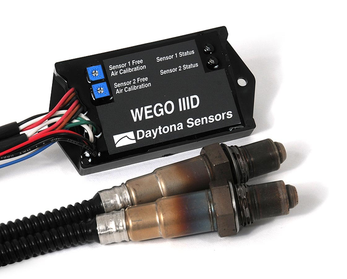 Daytona Sensors 111004 Air-Fuel Ratio Interface, WEGO III, Wideband, Dual Channel, 0-5V Output, Controller / Sensors Included, Universal, Kit