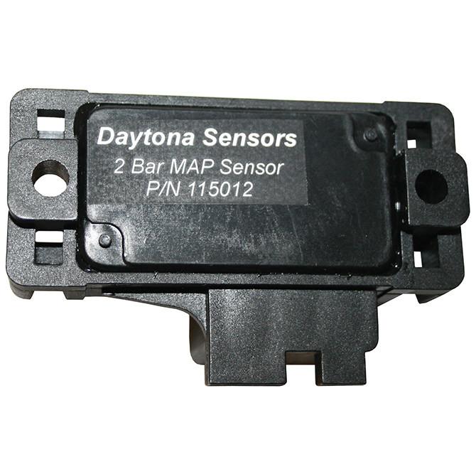 Daytona Sensors 115012 Map Sensor, 2 bar, Up to 15 psi, Delphi Gen 1 Style, Each