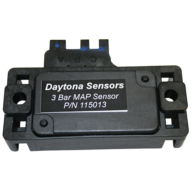Daytona Sensors 115013 Map Sensor, 3 bar, Up to 30 psi, Delphi Gen 1 Style, Each