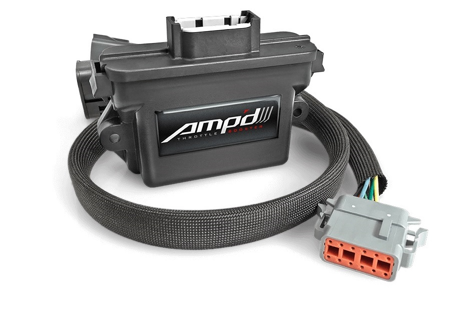 Amp'D Throttle Booster 06-07 GM 6.6L Duramax