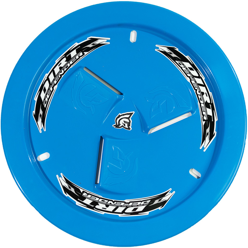 Wheel Cover Light Blue Vented