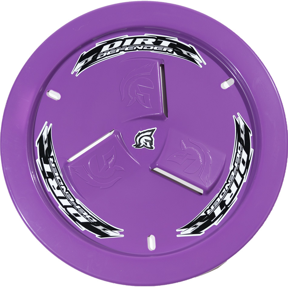 Wheel Cover Purple Vented