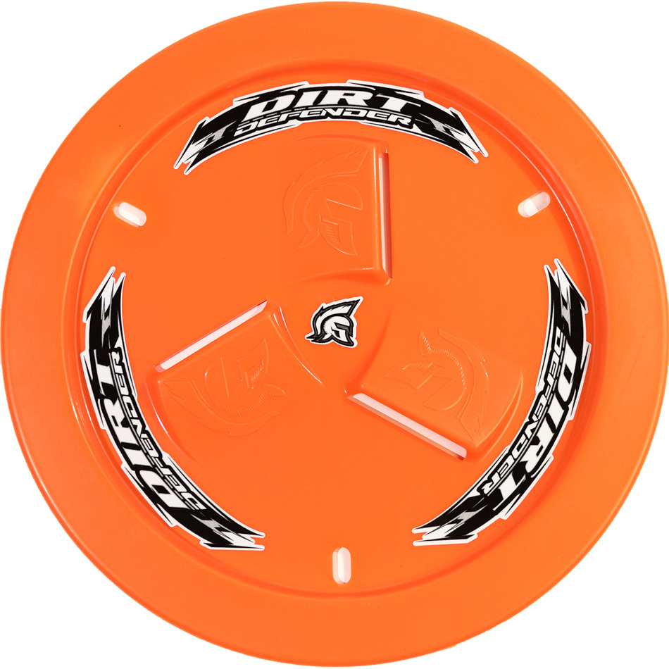 Wheel Cover Orange Vented