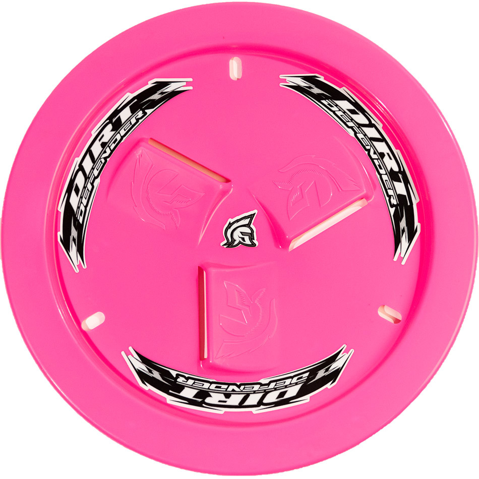 Wheel Cover Neon Pink Vented