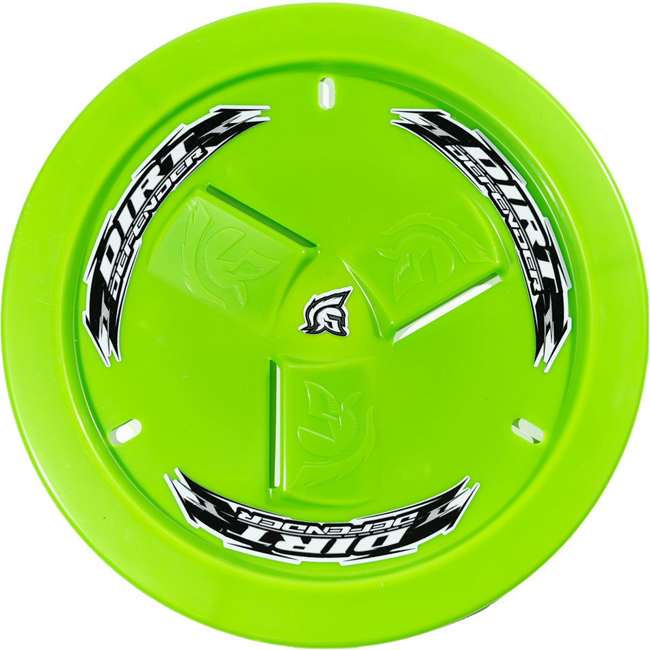 Wheel Cover Neon Green Vented