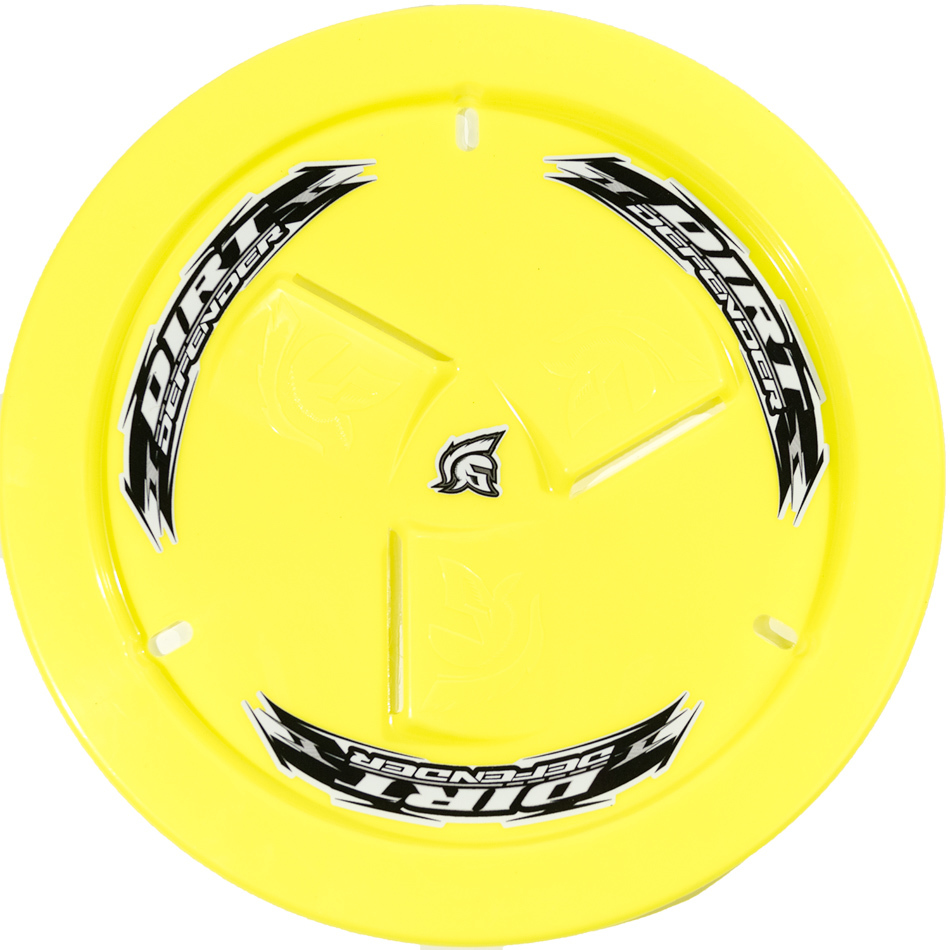 Wheel Cover Neon Yellow Vented