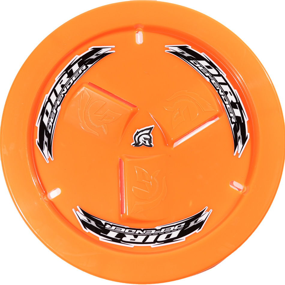 Wheel Cover Neon Orange Vented