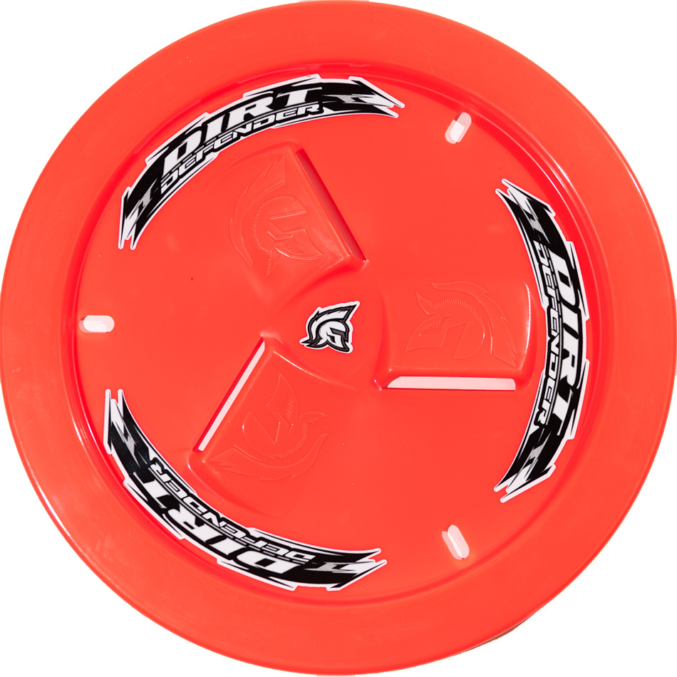 Wheel Cover Neon Red Vented