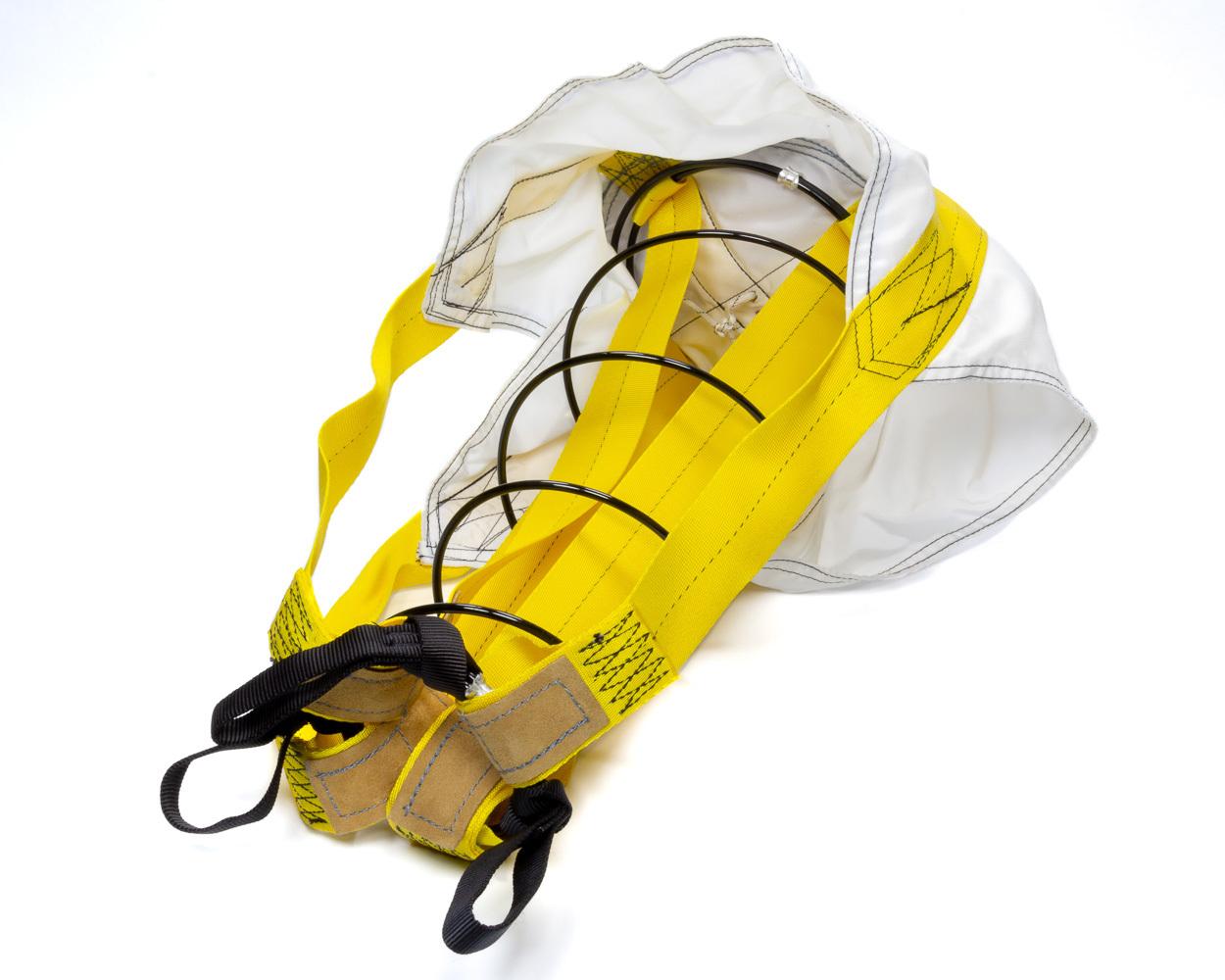 Deist Safety 31700 Drag Parachute Pilot, 7 in Diameter, Black, Each