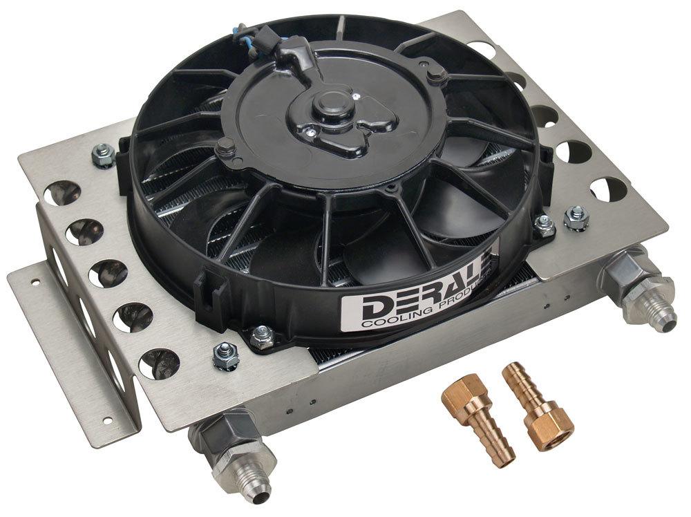 Remote Oil Cooler w/Fan