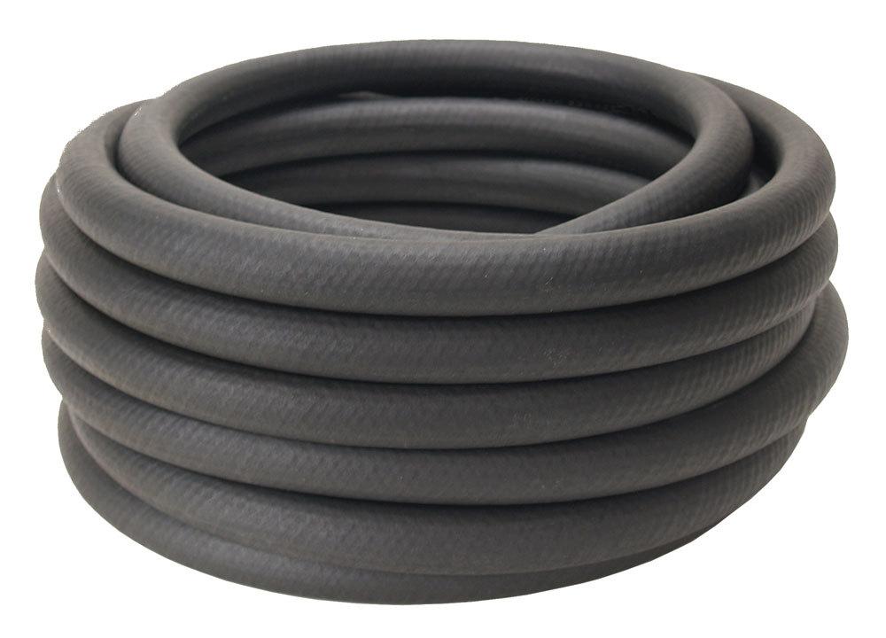 Derale 15799 Hose, Oil, Hi-Temp, 1/2 in ID, Rubber, Black, 25 ft, Each