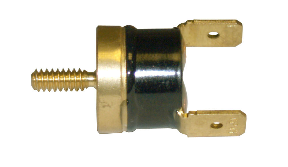 Derale 16728 Temperature Switch, 180 Degree On, 165 Degree Off, 3/8 in NPT Bushing / Push-In Adapter, Kit