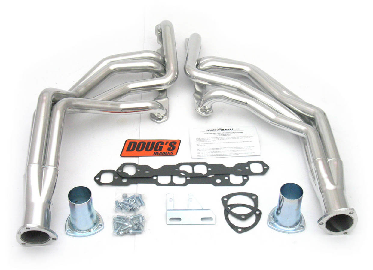 SBC Headers - Coated - 62-67 Chevy II