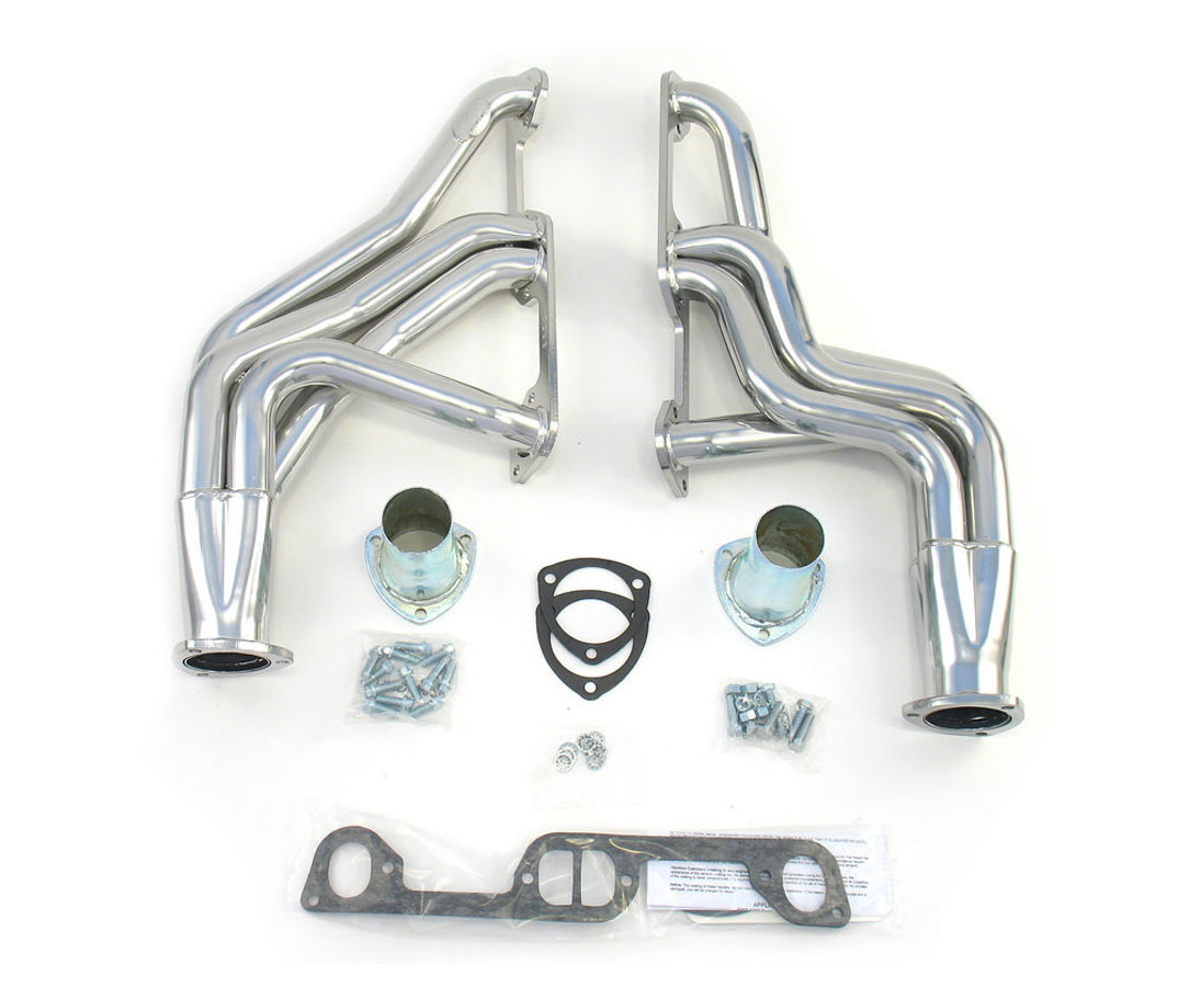 Coated Headers - Pontiac V8 326-455