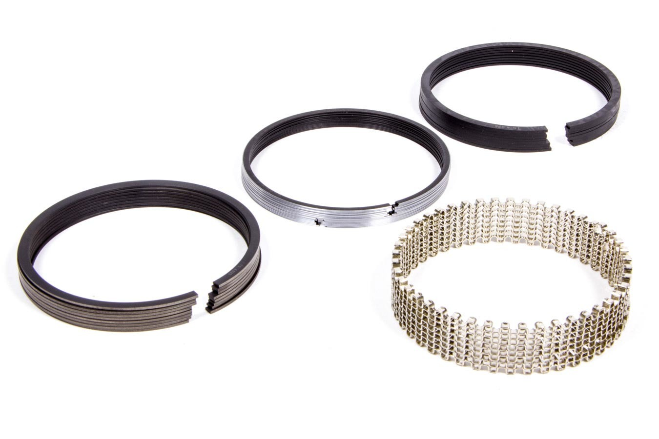Diamond Racing Products 09024030 Piston Rings, Pro-Select, 4.030 in Bore, File Fit, 1/16 x 1/16 x 3/16 in Thick, Standard Tension, Plasma Moly, 8 Cylinder, Kit