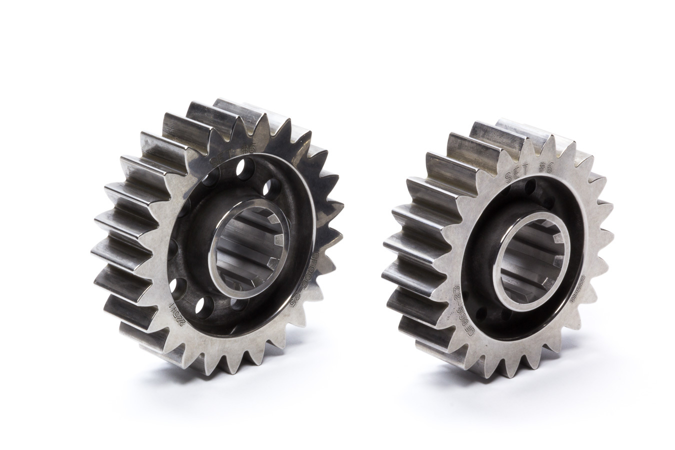 Diversified Machine FFQCG-6 Quick Change Gear Set, Friction Fighter, Set 6, 10 Spline, 4.12 Ratios 4.48 / 3.79, 4.86 Ratios 5.28 / 4.47, Steel, Each