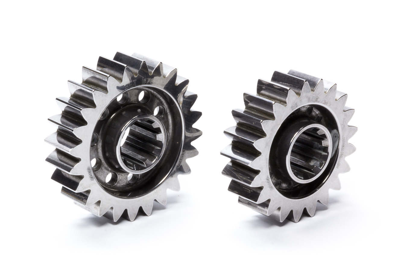 Diversified Machine FFQCG-7G Quick Change Gear Set, Friction Fighter, Set 7G, 10 Spline, 4.12 Ratios 4.71 / 3.61, 4.86 Ratios 5.55 / 4.25, Steel, Each