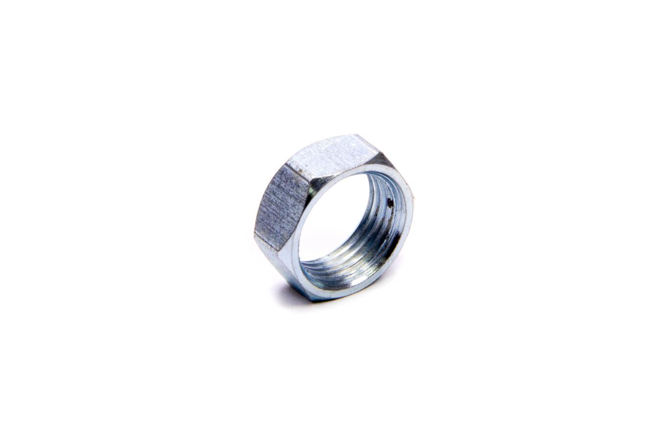 Diversified Machine JAM10L Jam Nut, 5/8-18 in Left Hand Thread, Steel, Zinc Oxide, Each