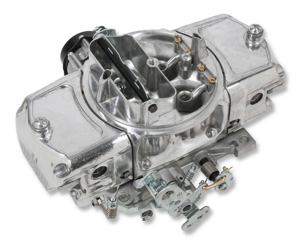 Demon Carburetion SPD-650-MS Carburetor, Speed Demon, 4-Barrel, 650 CFM, Square Bore, Electric Choke, Mechanical Secondary, Dual Inlet, Silver, Each