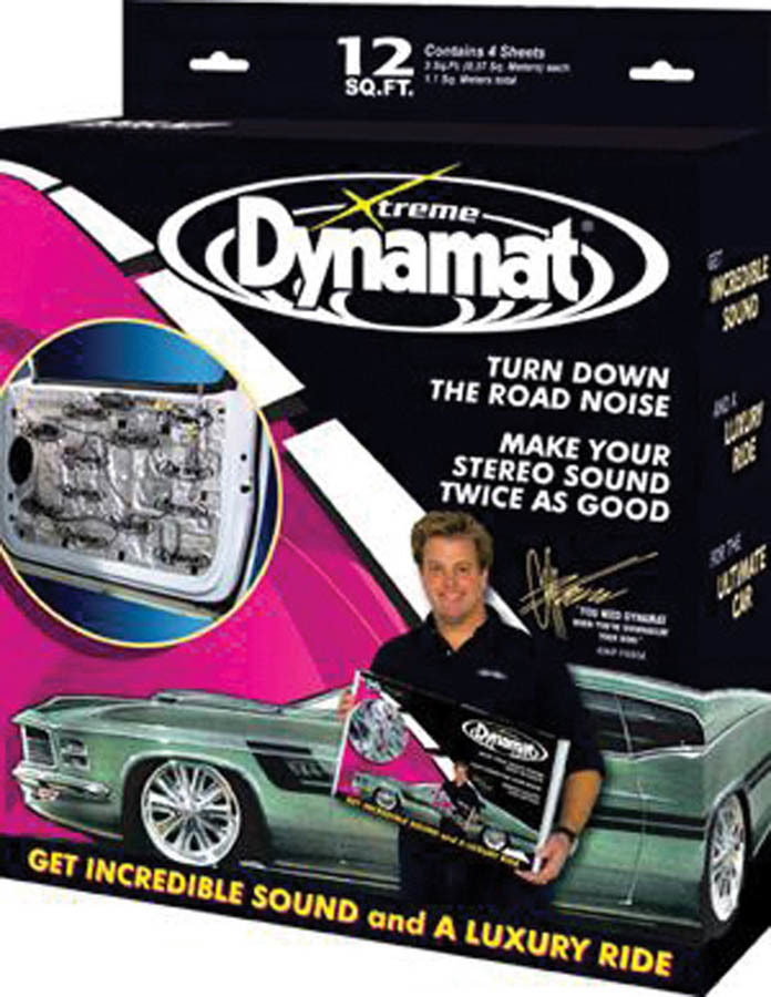 Dynamat Extreme Door Kit 4 Sheets 12in x 36in