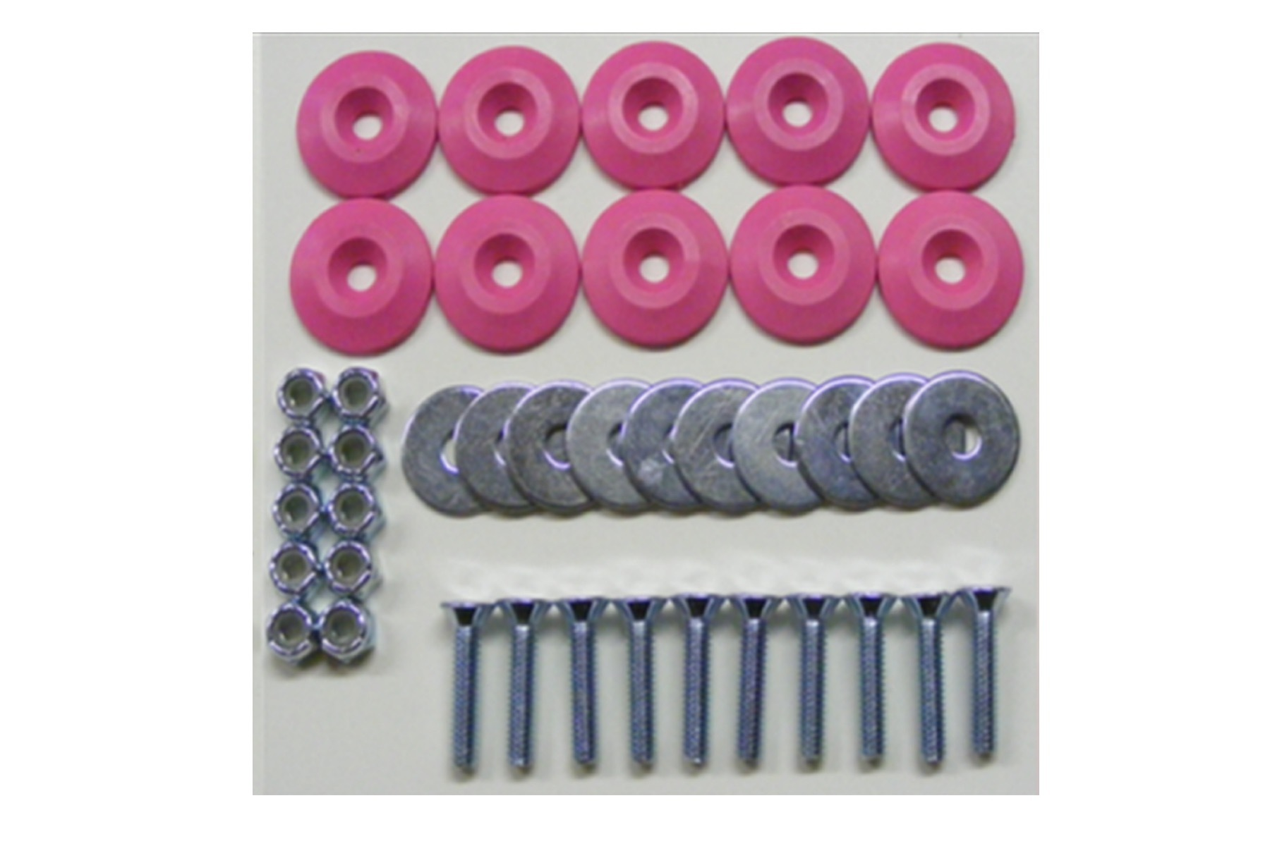 Body Bolt Kit Pink 10 Pack