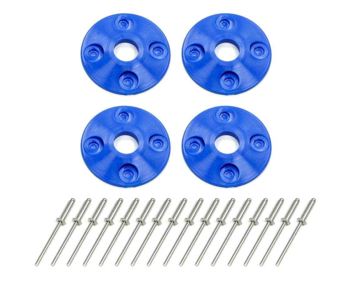 Scuff Plate Plastic 4pk Blue
