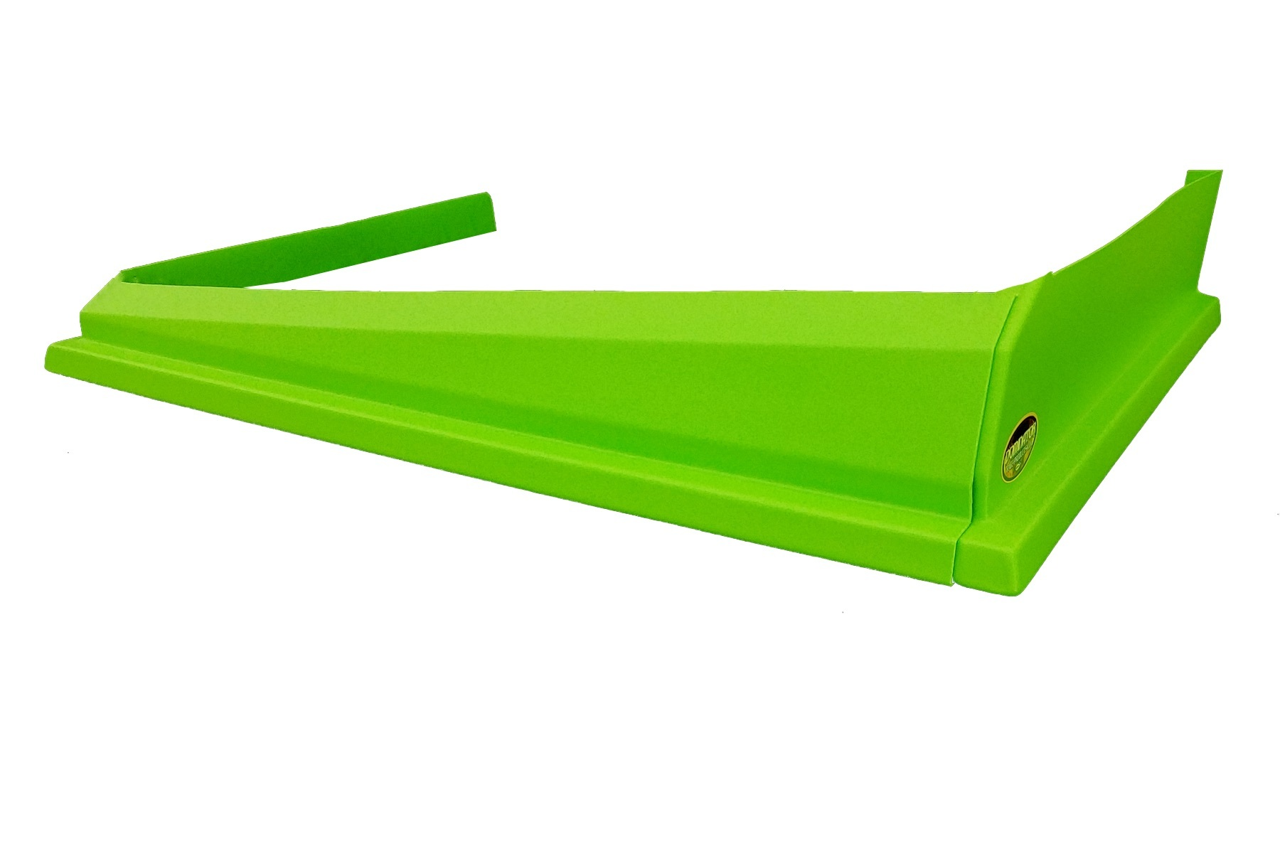 Dominator Racing Products 408-XG Air Valance, 3 Piece, Molded Plastic, Xtreme Green, Dirt Modified, Each