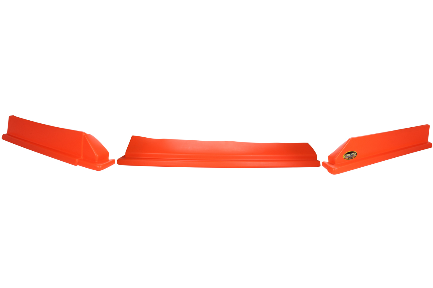 Dominator Racing Products 409-FOR Air Valance, 3 Piece, Molded Plastic, Orange, Dirt Modified, Each