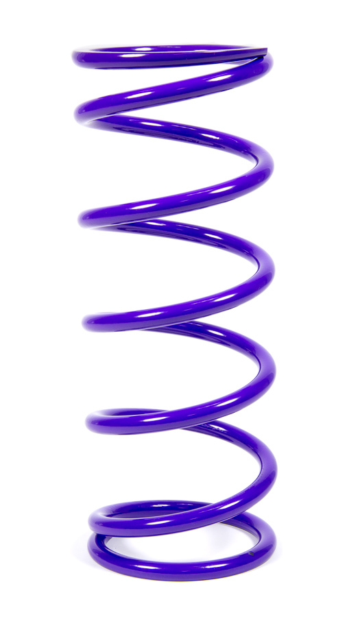 Draco Racing DRA.C10.3.0.125 Coil Spring, Coil-Over, 3.000 in ID, 10.000 in Length, 125 lb/in Spring Rate, Purple Powder Coat, Each