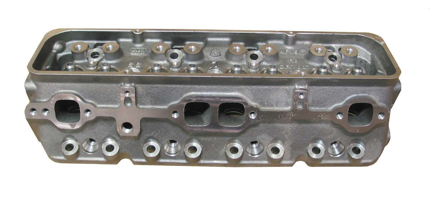 Dart 10024360 Cylinder Head, Iron Eagle S/S, Bare, 1.940 / 1.500 in Valves, 165 cc Intake, 76 cc Chamber, Iron, Small Block Chevy, Each