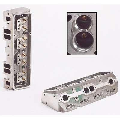 SBC 180cc I/E Head 49cc A/P 2.02/1.60 Bare