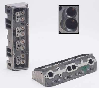 SBC 200cc I/E Head 49cc A/P 2.02/1.60 Bare