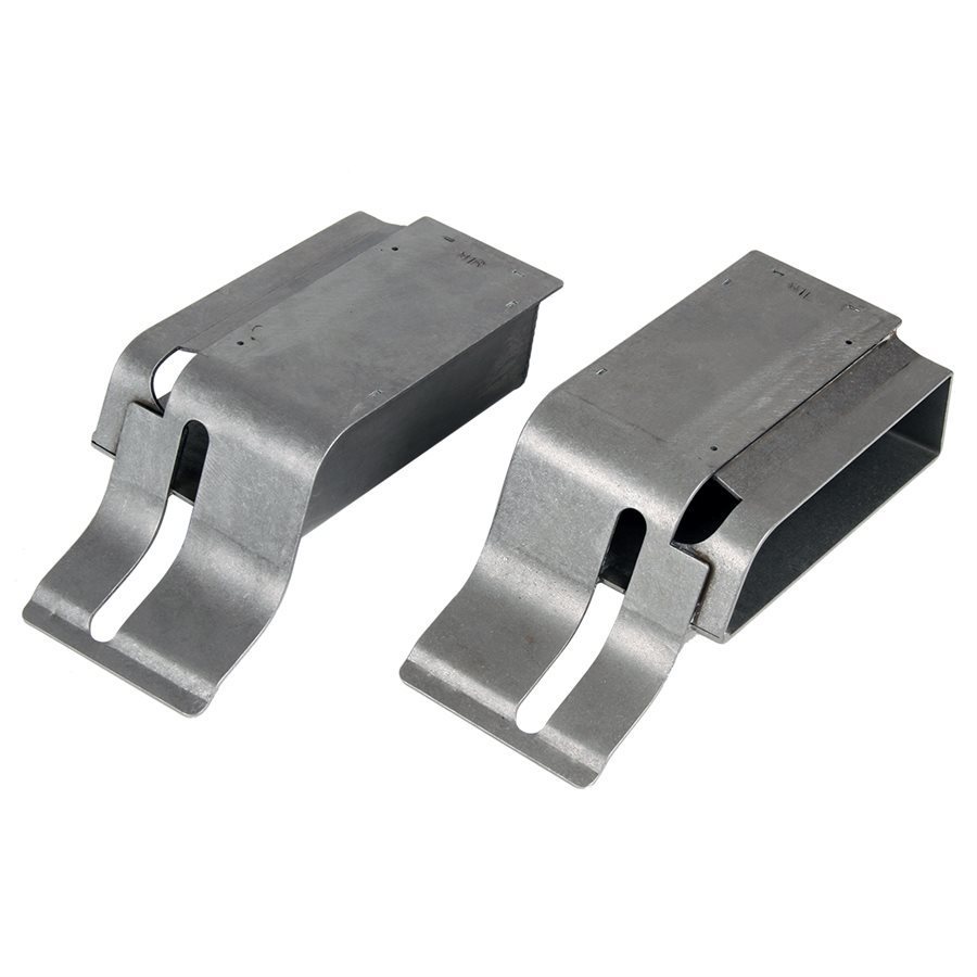 Detroit Speed 010107 Torque Box Kit, Weld-On, Steel, Ford Mustang 1964.5-70, Pair